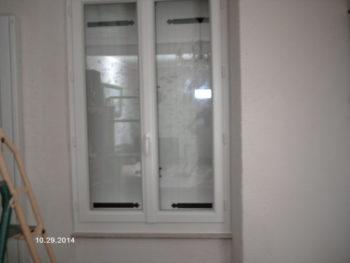 Fenêtre PVC blanche